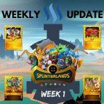 Full Steem Ahead with Splinterlands: Week 1