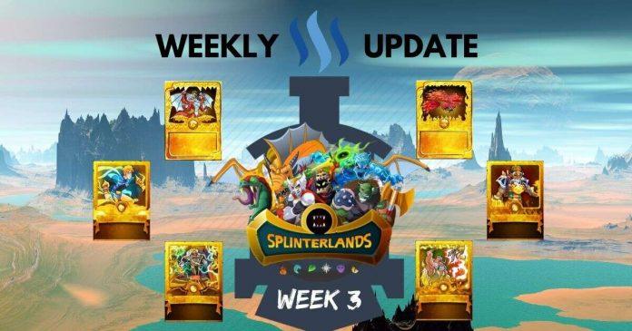 Full Steem Ahead with Splinterlands: Week 3