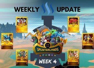 Splinterlands: Week 4
