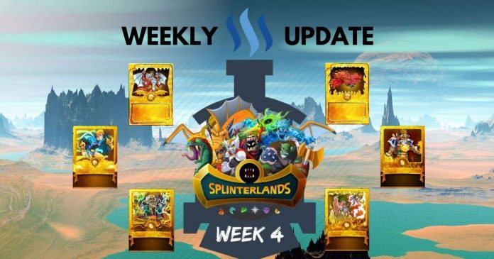Splinterlands: Week 4