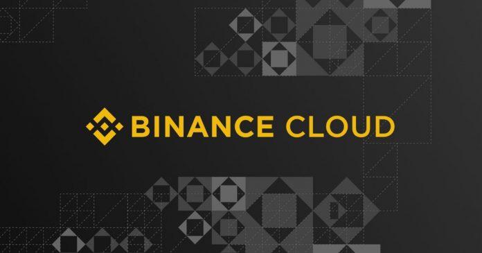 Binance Exchange Launch Binance Cloud Service