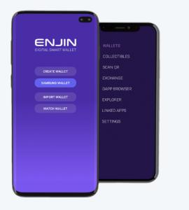 Enjin Mobile wallet