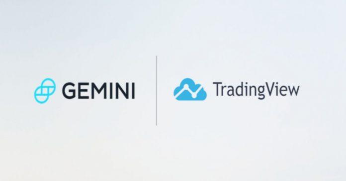 Gemini Exchange Partners TradingView