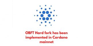 OBFT Hard fork has been implemented in Cardano mainnet