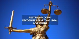 australian court recognizes crypto as legal investment