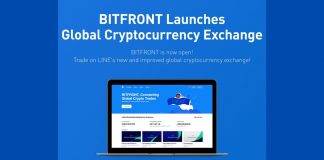 japan line now on bitfront
