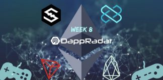 Dapp Data with DappRadar Week 8