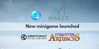 MakerDAO, Kriptomat and Forgotten Artifacts join forces to launch minigame