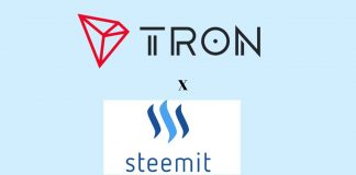 tron partners with steemit