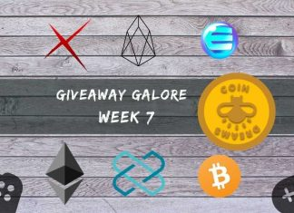 Giveaway Galore with CoinDreams: Week 7