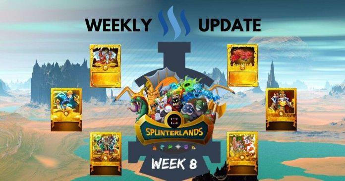 Full Steem Ahead with Splinterlands: Week 8