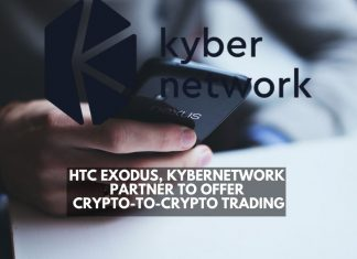 HTC exodus, Kyber Network partner to offer crypto-to-crypto trading