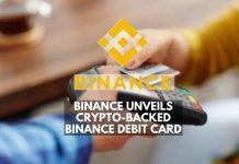 Binance Unveils Crypto-Backed Binance Debit Card