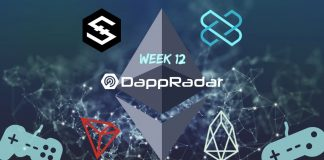 Dapp Data with DappRadar Week 12