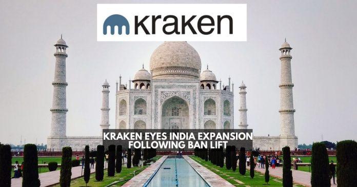 Kraken Eyes India Expansion Following Ban Lift