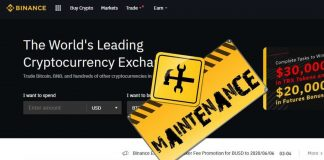 Oh-Oh! Binance was Down Once Again