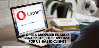 Opera Enables In-App BTC, ETH Purchase in the US