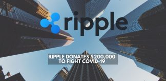 Ripple Donates $200,000 to Fight COVID-19