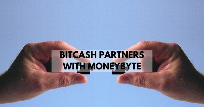 bitcash partners with moneybyte