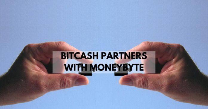 bitcash partners with moneybyte