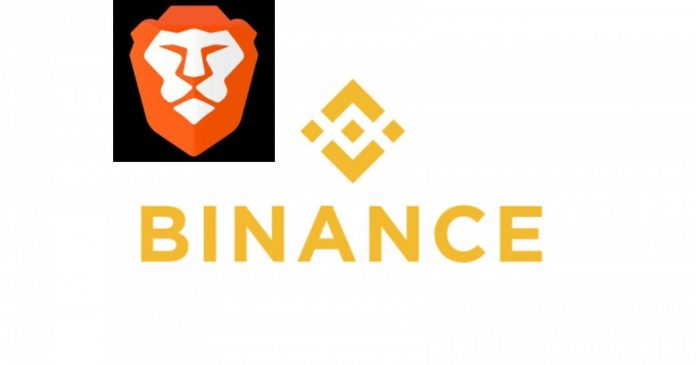 brave partners with binance