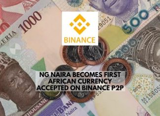 NG Naira Becomes First African Currency Accepted on Binance P2P