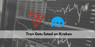 Tron Gets Listed on Kraken Exchange