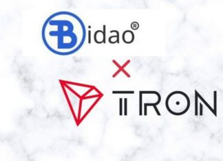 Bidao, TRON Enter Strategic Partnership