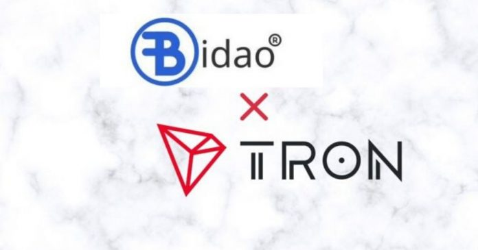 Bidao, TRON Enter Strategic Partnership