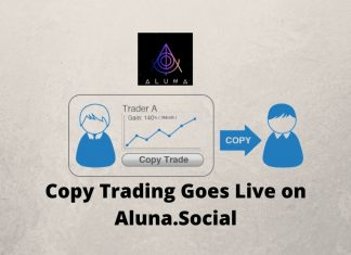 Copy Trading Goes Live on Aluna.Social