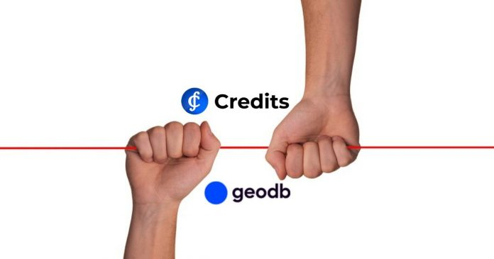 Credits and GeoDb
