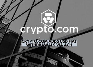 Crypto.com Adds USD Fiat Withdrawals via ACH