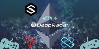 Dapp Data with DappRadar Week 16