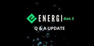 Energi Gen 3 Q & A UPATE