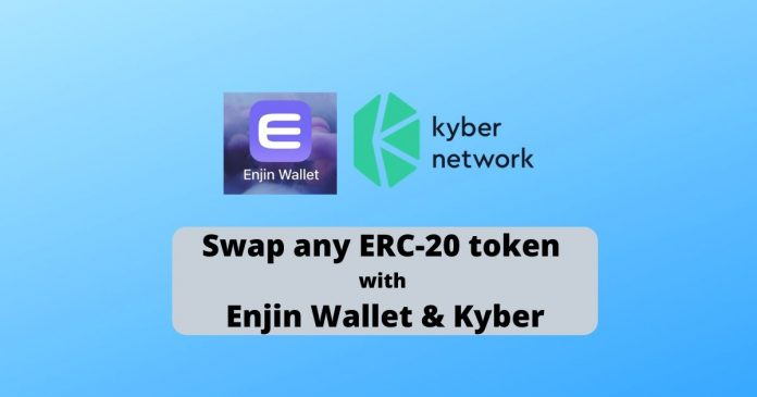Enjin Wallet Adds Token Swaps for ERC-20 Pairs