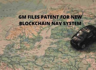 General Motors files patent for new blockchain nav system