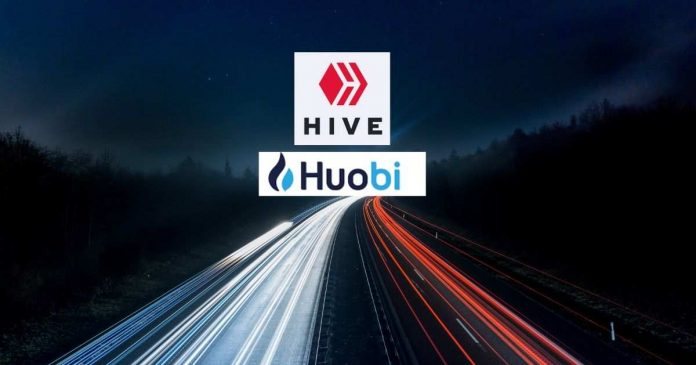 Hive is live on Huobi
