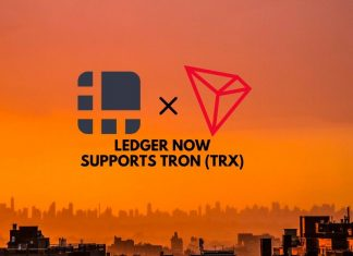 Ledger Now Supports Tron TRX