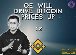 QE to Pump Bitcoin Price- CZ Binance