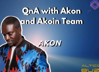 QnA with Akon and Akoin Team
