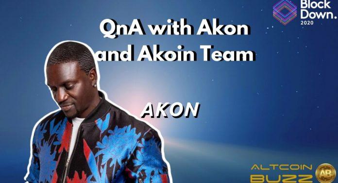 QnA with Akon and Akoin Team
