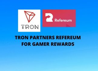 TRON Partners Refereum for Gamer Rewards