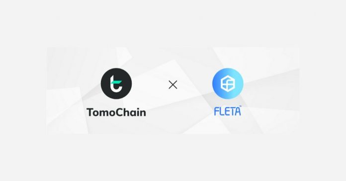 TomoChain Partners FLETA Blockchain
