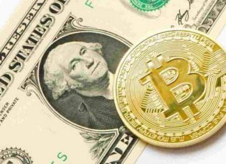 Bitcoin Gains, Dow Jones Down All-Time Low
