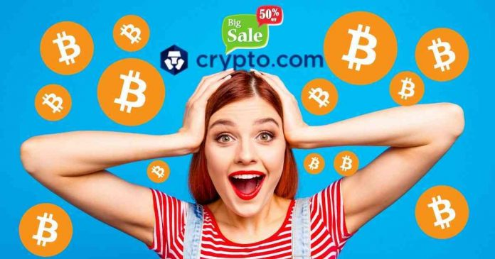 Bitcoin at 50% Discount: Crypto.com Halving Special