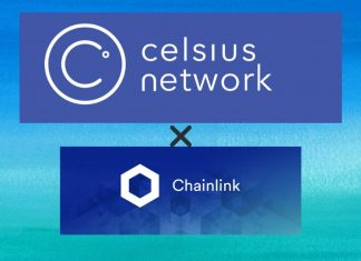 celsius partners with chainlink