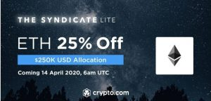 crypto.com eth sale on syndicate lite