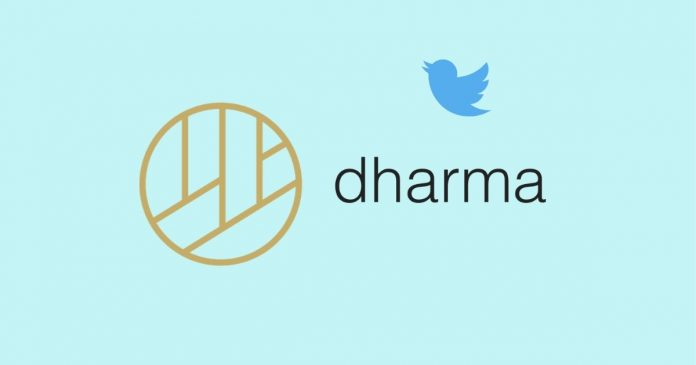 dharma launches twitter based payments