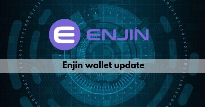 enjin wallet update