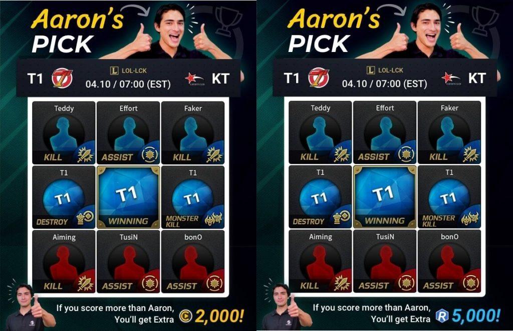 RankingBall - Aaron's Pick